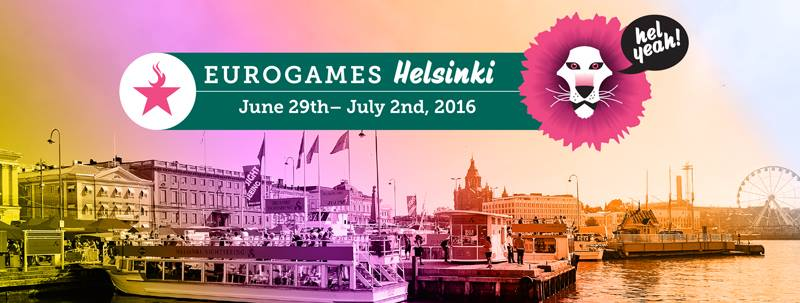 EuroGames Helsinki June 29th – July 2nd, 2016