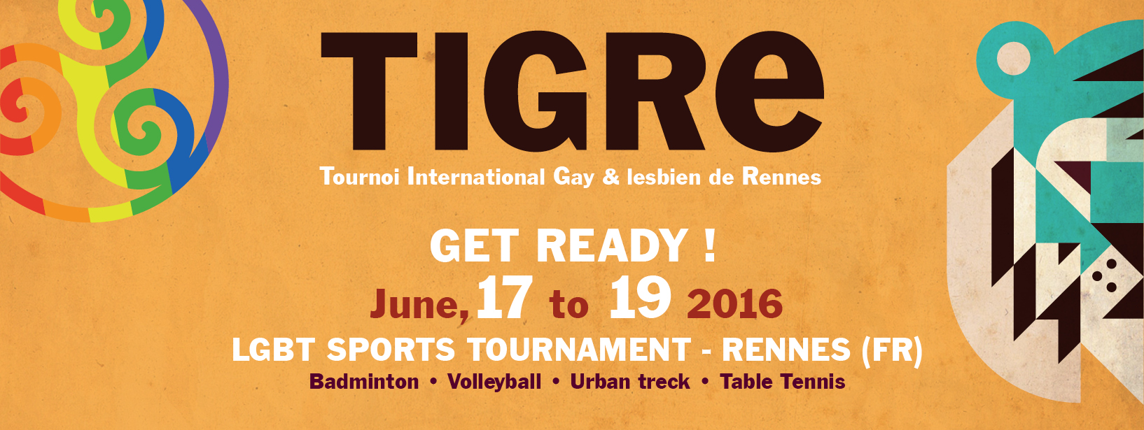 TIGRE 2016 – INTERNATIONAL LBGT SPORT TOURNAMENT IN RENNES @ GLS RENNES