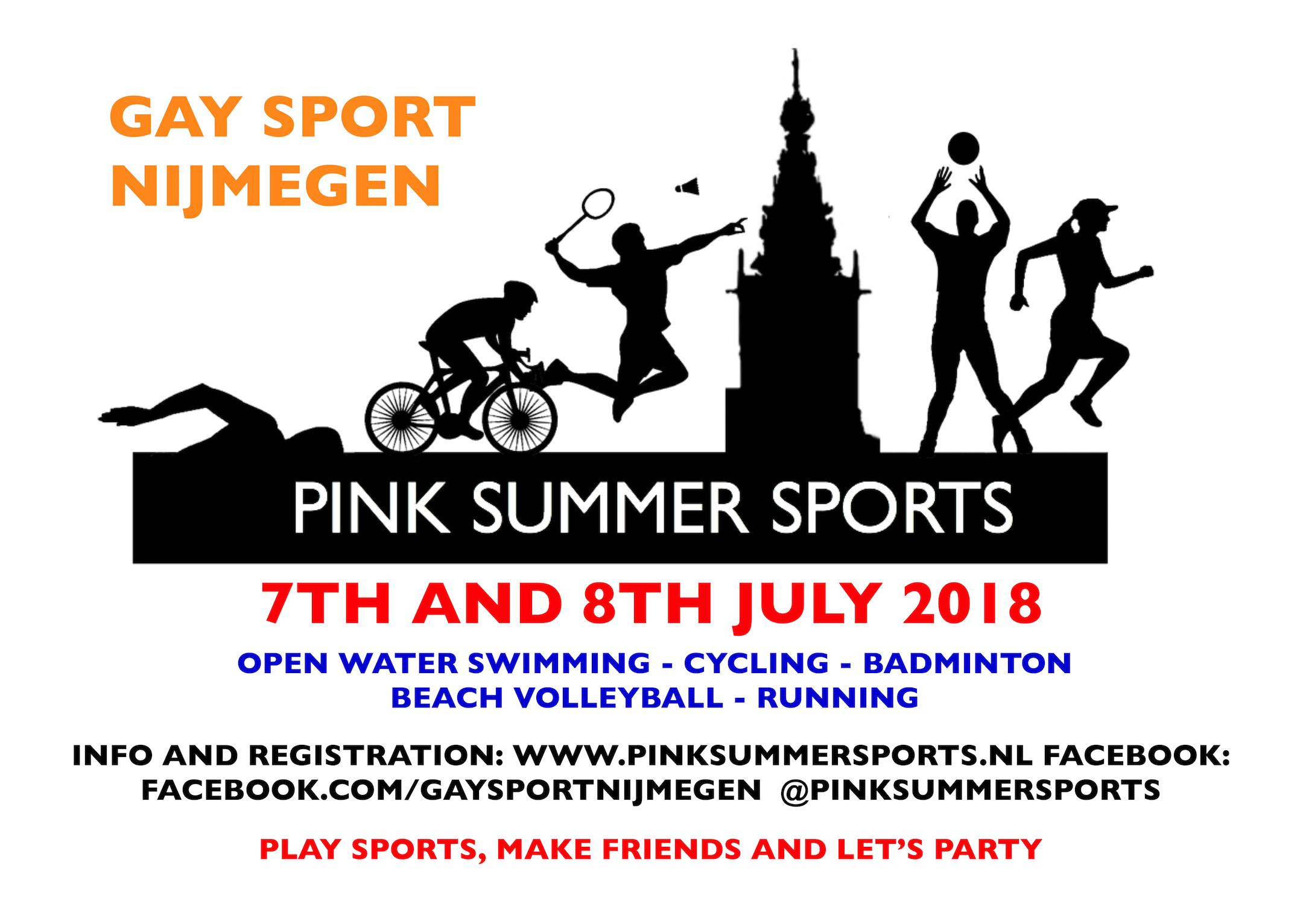 PINK SUMMER SPORTS @ Nijmegen | Gelderland | Netherlands