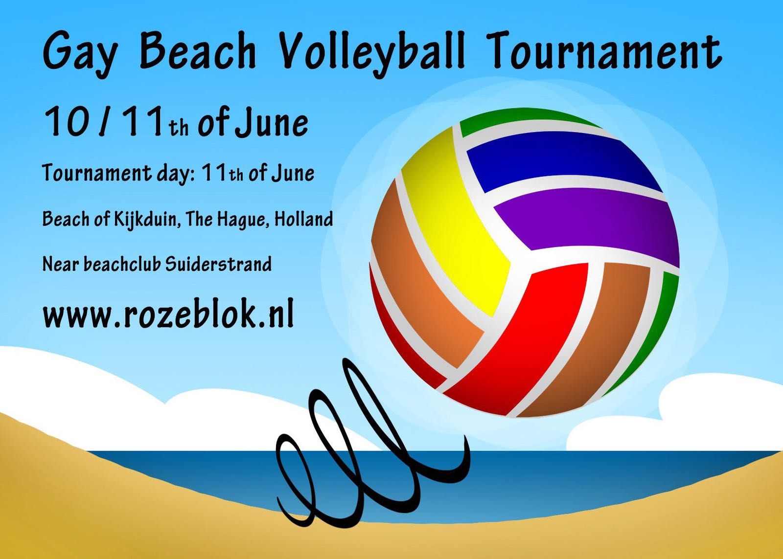 Camppink Beach Volleyball Tournament @ The Hague | South Holland | Netherlands