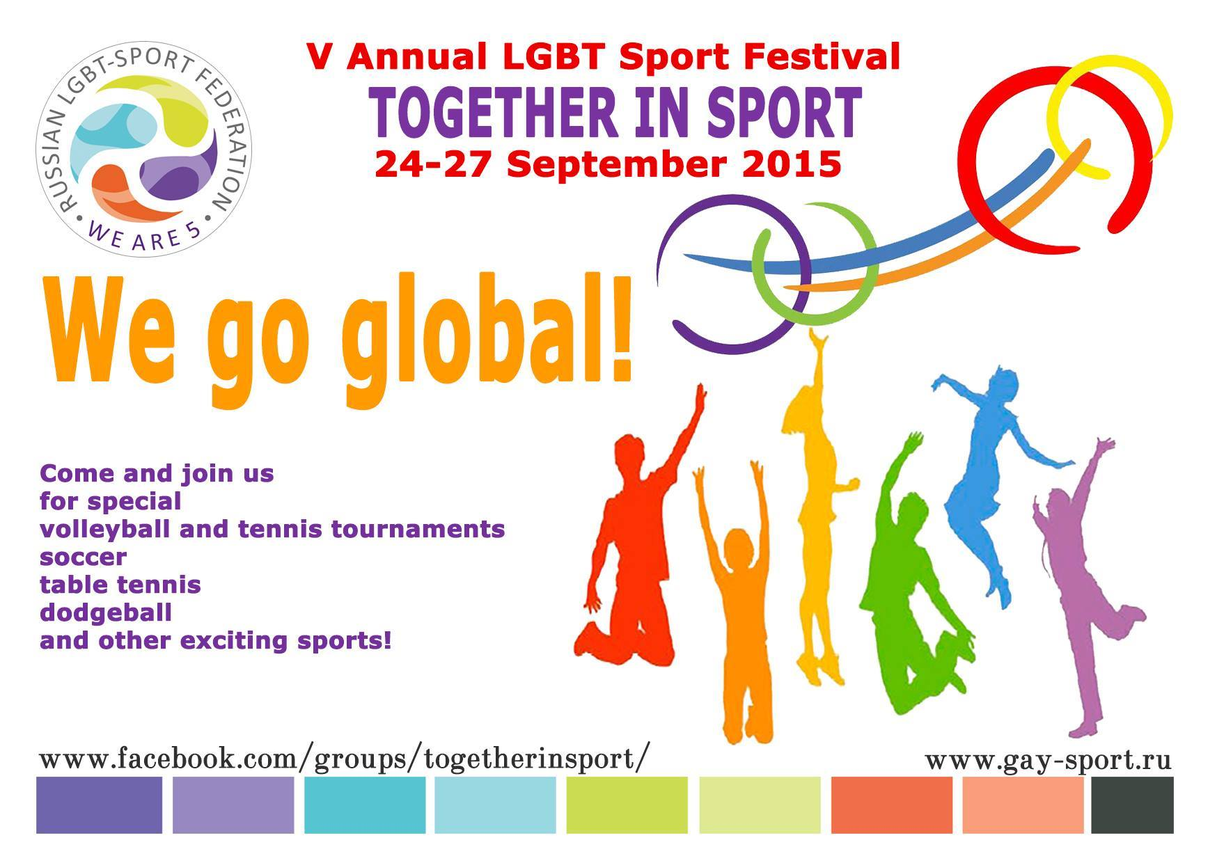 5th annual Summer Festival Together in Sport @ Moscow | Moscow | Russia