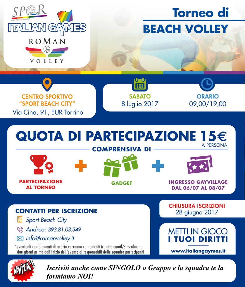 SPQR Beach Volley @ Rome | Lazio | Italy