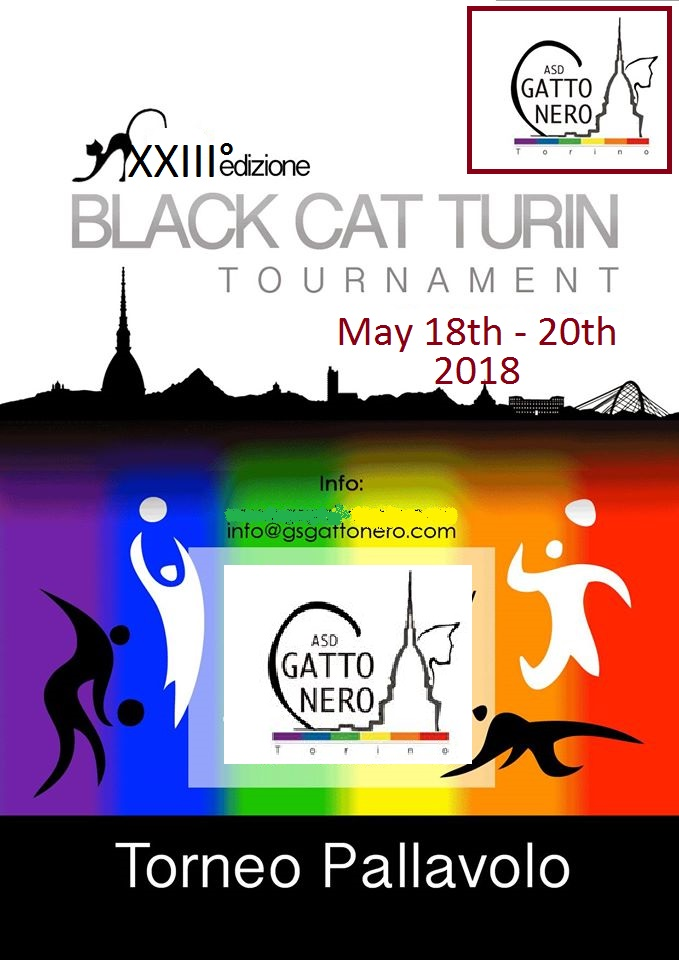 XIII° BLACK CAT Volley Tournament @ Turin | Piedmont | Italy