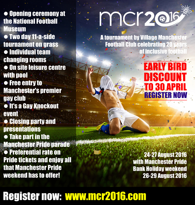mcr2016 Village Manchester Football Club @ Manchester | England | United Kingdom