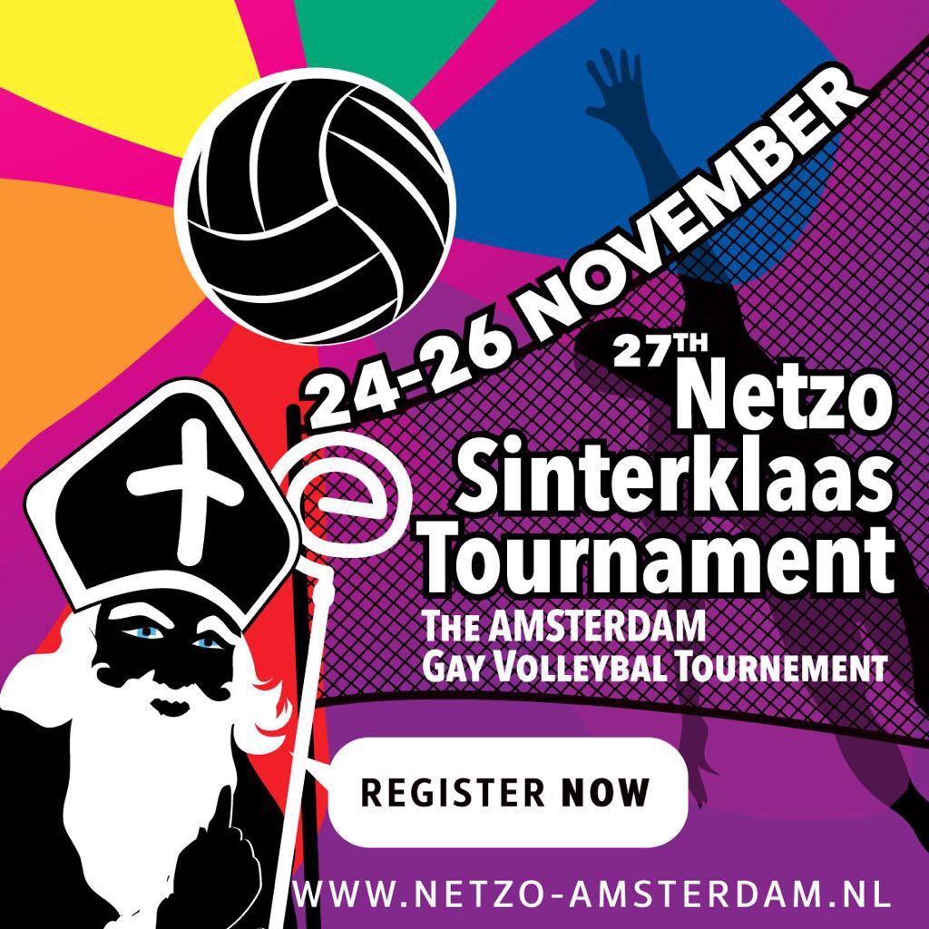 Netzo Gay Volleyball Tournament Amsterdam @ Amsterdam   North Holland   Netherlands