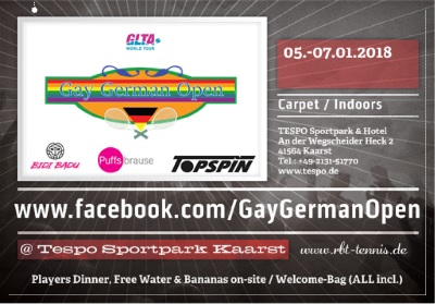 11th Gay German Open 2018 @ Kaarst | North Rhine-Westphalia | Germany