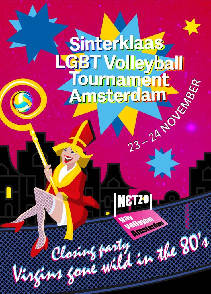 Sinterklaas LGBT Volleyball Tournament Amsterdam
