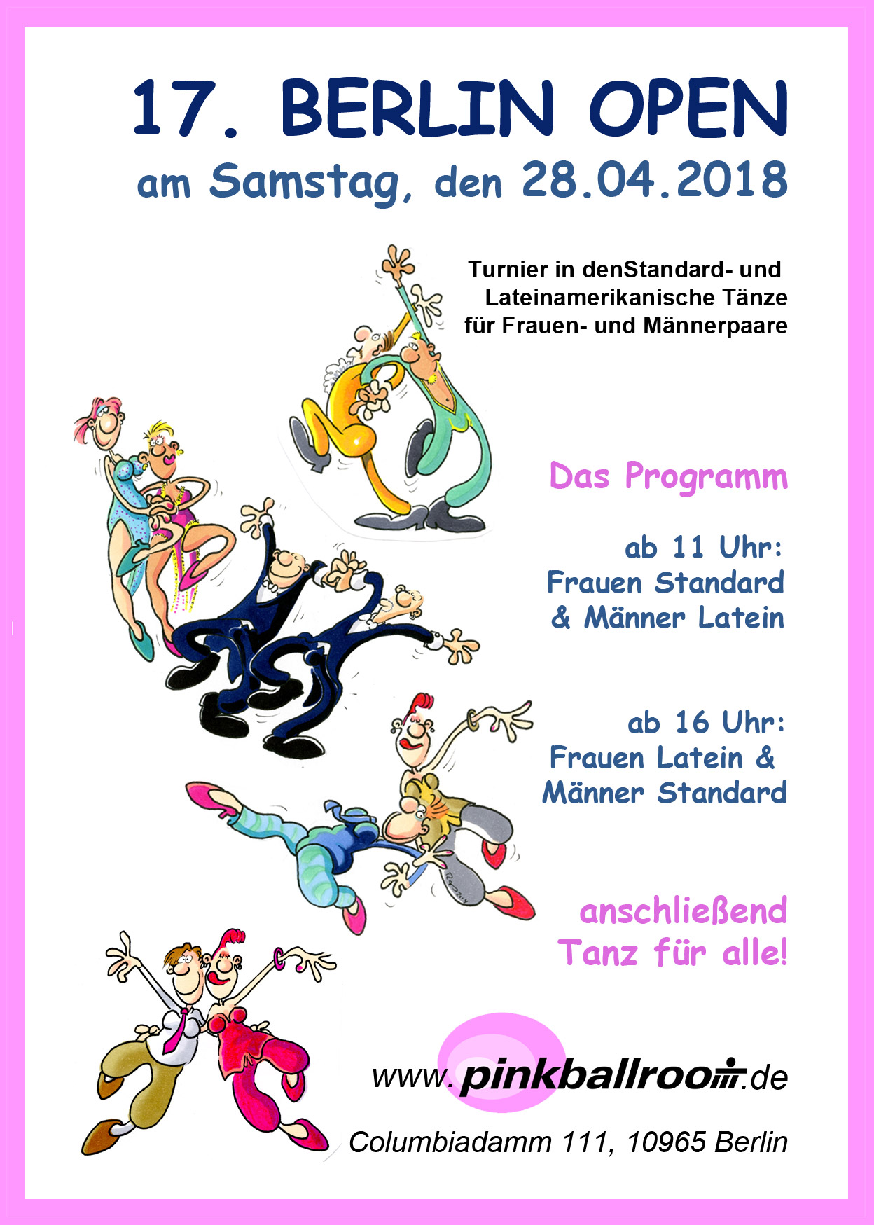17th Berlin Open Dance Competition @ Berlin | Berlin | Germany