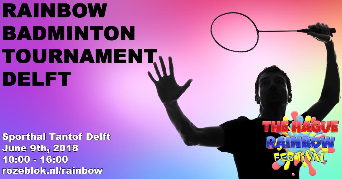 Rainbow Badmintontournamnet @ Delft   South Holland   Netherlands