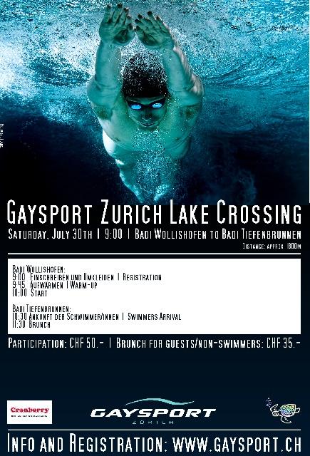 GAYSPORT LAKE CROSSING ZURICH @ Zürich | Zurich | Switzerland