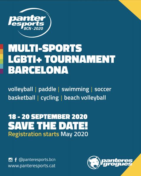 Panteresports LGBTI+ multisport tournament