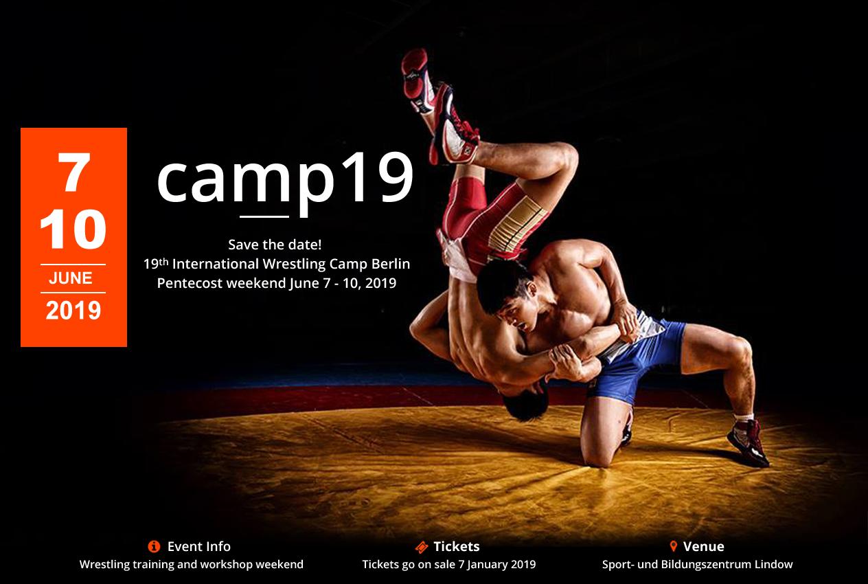 19th International Wrestling Camp Berlin @ Berlin | Berlin | Germany